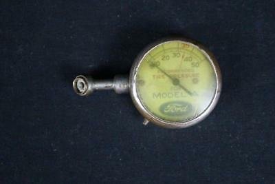 Ford Motor Co Model A Air Pressure Tire Gauge Sign