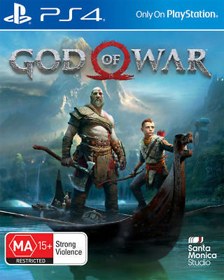 God of War PS4 Playstation 4 Brand New Sealed