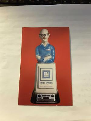 "Vintage JIM BEAM Bottle (Postcard) ICONIC GM ""Mr. GODWRENCH"" (1978) BEFORE DEI!"
