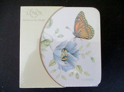 8X Lenox Butterfly Meadow Coasters  Two Sets Of Four  New In Pkg