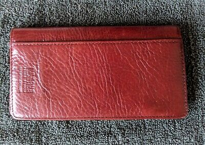 Wilson's Genuine leather checkbook cover