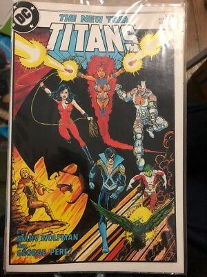 The New Teen Titans #1 (Aug 1984, DC), in sleeve, very good condition