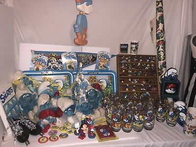vintage smurf collection