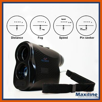Laser Range Finder Rangefinder Golf Hunting Sports Survey Meter Measurer