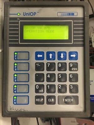 UniOP Keypad & Display Screen Operator Interface CP-01A Powers On