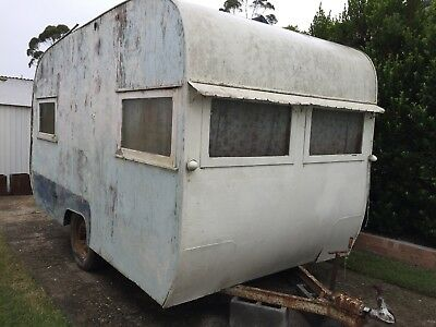 1940's 1950's Bondwood Caravan Project Suit Restoration Shed Find Estate Sale