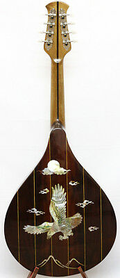 Arch back Mandola, Solid spruce top Rosewood, Eagle MOP inlay, NAMA09