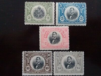 D'HAITI Excellent Old Unused Stamps as Per Photo. Great Lot. Very Low Start