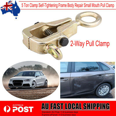 5 Ton Clamp Self-Tightening Frame Body Repair Small Mouth Pull Clamp 11,000lbs