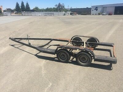 20 foot flatbed boat trailer project
