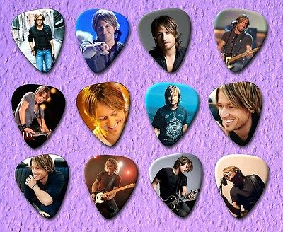 Keith Urban Guitar Picks *Limited Edition* Set of 12