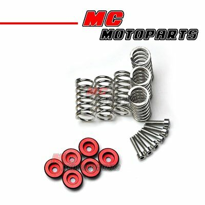 Ducati Clutch Collars Spring Red CNC For GT1000 748 996 998 749 1098 1198 S