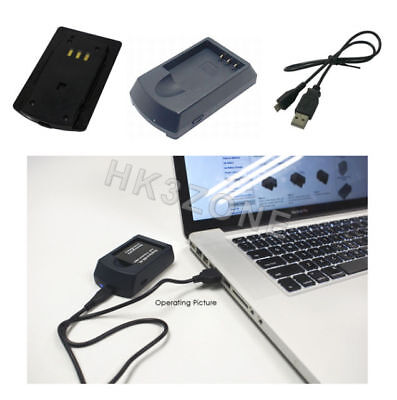 USB Battery Charger for NIKON Coolpix DSLR D5100,DSLR D5200,EN-EL14, EN-EL14e