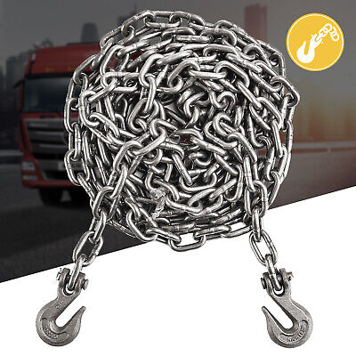 """5/16"""" X 20' FT Heavy Duty Towing Chain for Cargo Automotive Truck Log Chain"""