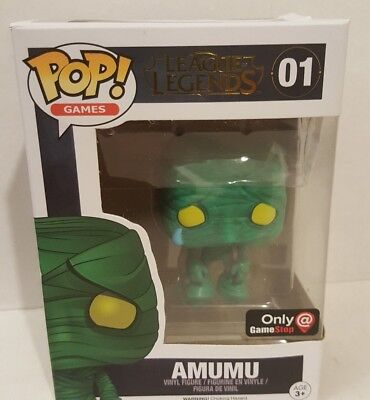 Funko Pop! League of Legends Gamestop Exclusive AMUMU NEW