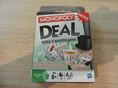 Hasbro Monopoly Deal Card Game (Croatian Language) (xy0146)