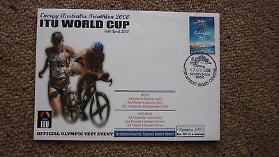 Sydney Olympic Series Test Event Cover, 2000 Itu Triathlon World Cup