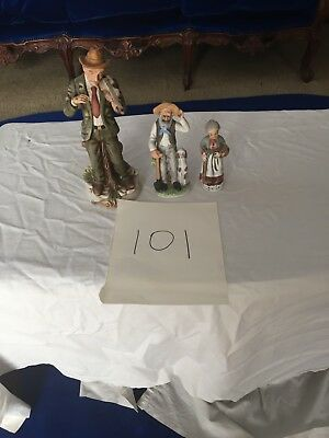 3 Grandparents figurines Excellent condition