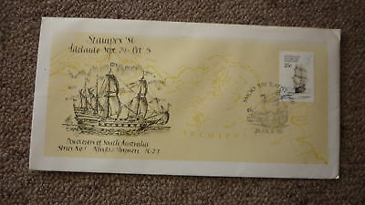 1981 Stampex Stamp Expo Cover, Smoky Bay Pm