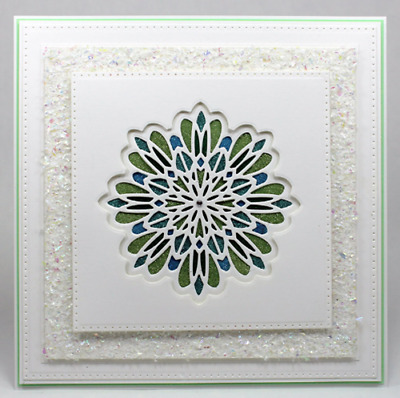 Layered Floral Flower Metal Frame Cutting Dies Scrapbook Embossing Paper Crafts