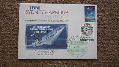 Sydney Olympic Series Test Event Cover, 1999 Sydney Harbour Sailing Regatta
