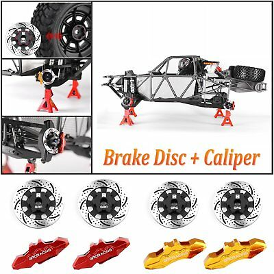 Metal Brake Disc Hub + Coupler + Caliper For Traxxas Unlimited Desert Racer UDR