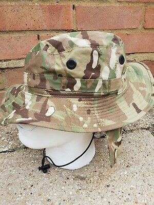 British Army Issue MTP Tropical Boonie Bush Hat Size 56  NEW IN PACK