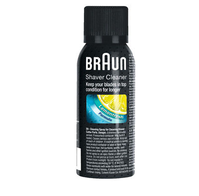 Braun SC8000 Shaver Cleaner Cleaning Spray Fluid For Shaver