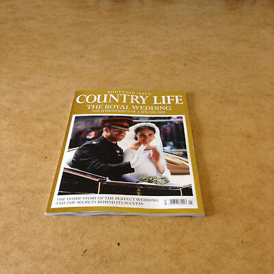 Country Life The Royal Wedding Harry & Meghan Souvenir Issue Royal Highights