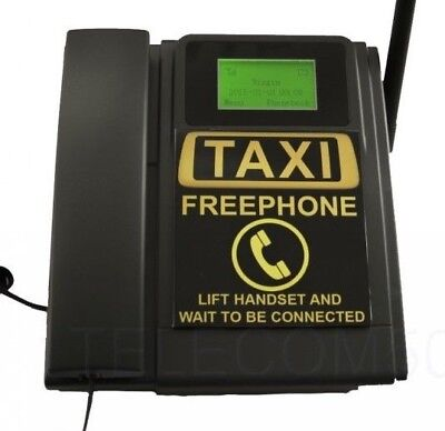 Gsm Desktop Wall Wireless Taxi Free Phone. Use Sim Card. No Buttons. Unlocked
