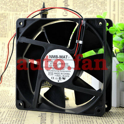 for new NMB 4715KL-04W-B30 12V 0.72A 120*120*38mm 2pin Mute fan