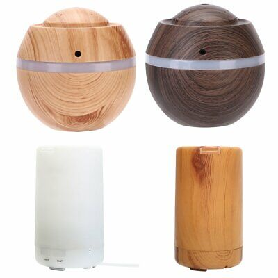 LED Essential Oil Ultrasonic Humidifier Air Aroma Diffuser Purifier Aromatherapy