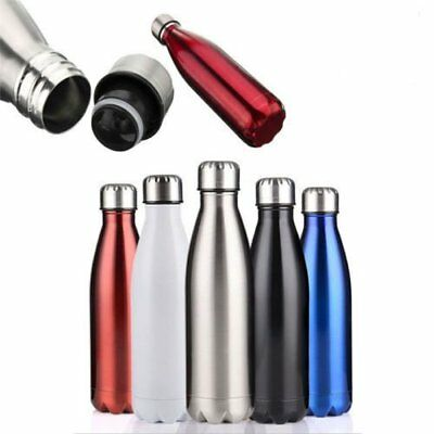 1000ml Stainless Steel Water Bottle Double Wall Vacuum Insulation Sports Outdoor