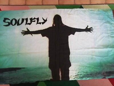 Flagge der Band Soulfly
