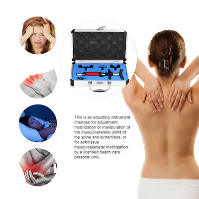 6 Levels Manual Chiropractic Spine Adjusting Corrector Tool Forth Massager