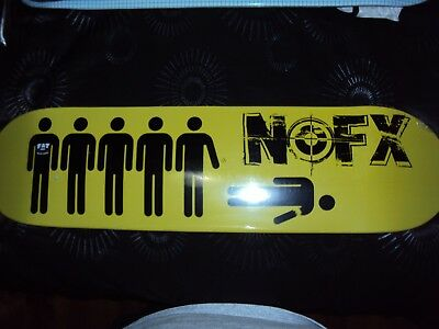 NOFX Wolves in Wolves Clothing skate deck limited edition rare SOLD OUT!