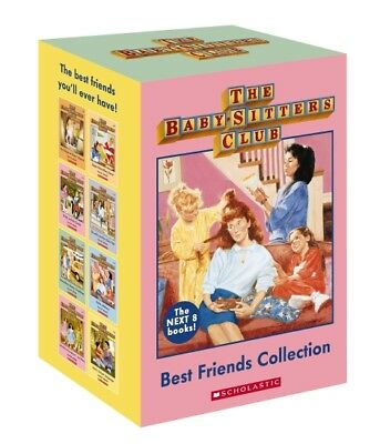 NEW Babysitters Club Best Friends Collection 8 Books Boxed Set FREE AU SHIPPING!