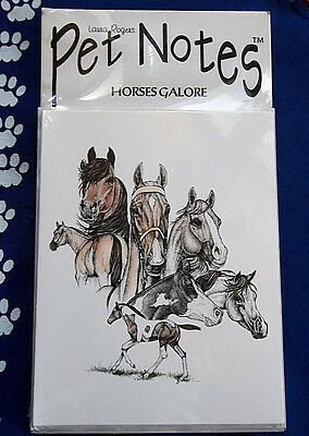 Horses Galore Note Cards