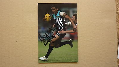 PORT ADELAIDE FC STAR MARLON MOTLOP HAND SIGNED 6x4 PHOTO
