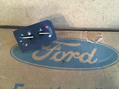Ford Escort Mk5 Fuel & Temp Gauge - Genuine NOS - Never Fitted