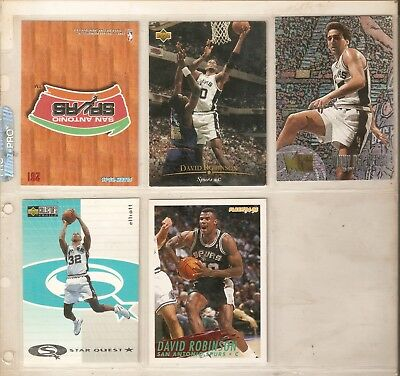 NBA 10 Tradingcards San Antonio Spurs Top Zustand!!!!!