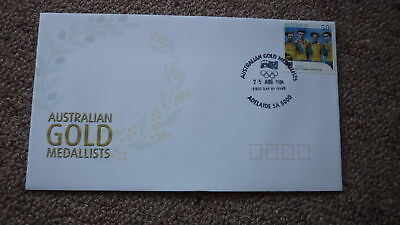 2004 Australian Athens Olympic Gold Medal Fdc, Adelaide, Pursuit Cycling Team