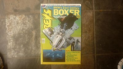 Old Australian Motorcycle Revs L/f Magazine Oct 1992 Bmw Boxer Engine