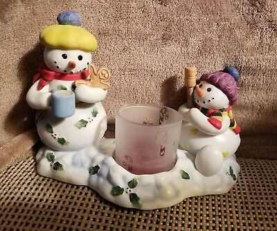 PartyLite Snowbell Kids Votive Candle Holder w/Original Box P7869 LAST TIME