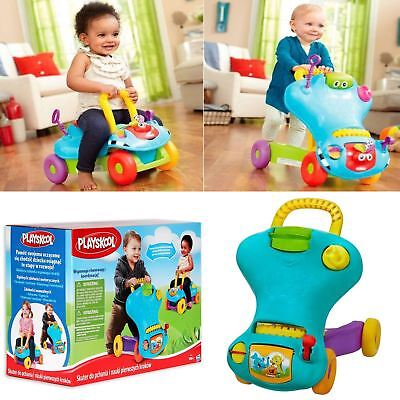 Playskool Baby Step Start Walk N Ride 2in1 Walker Ride On Car Toy Activity Game