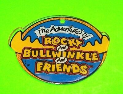 Data East ROCKY And BULLWINKLE Original Pinball Machine Promo Key Chain 1992