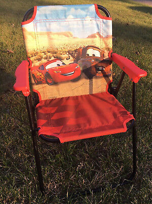 Disney Cars Lightning McQueen and Mater Kids Folding Chair