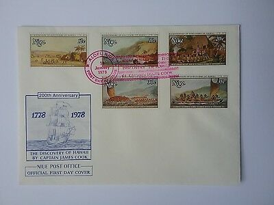 1978 Cook Discovery Anniversary  First Day Covers x 6