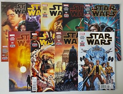 First 9 issues Star Wars - Issue # 1, 2, 3, 4, 5, 6, 7, 8, 9 - 2015 - NM (514)