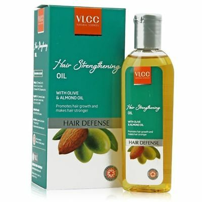 VLCC Hair Defense Hair Strengthening with Olive and Almond Oil - 100 ml